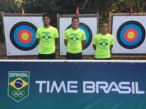 Seleção Brasileira de Tiro com Arco masculino no Rio2016/ Foto: Reprodução