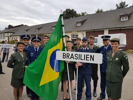 Equipe brasileira no Mundial Militar na Alemanha/ Foto: Reprodução