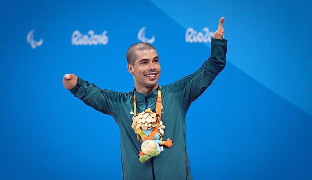 Daniel Dias foi o grande nome do Brasil nos Jogos Paralimpicos 2016 / Foto: Zanone Fraissat/Folhapress
