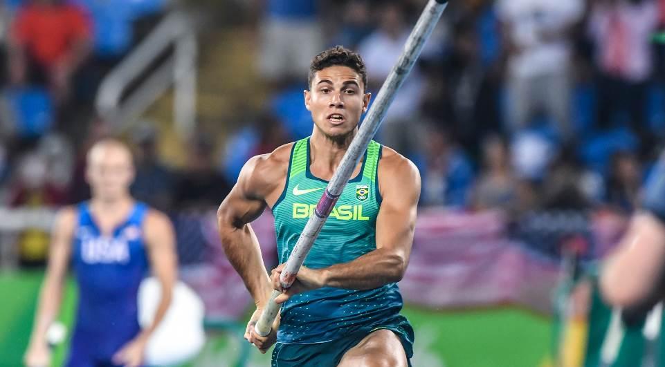 Depois do ouro nos Jogos Olímpicos, Thiago Braz garante a prata em Berlim/ Foto: Reprodução