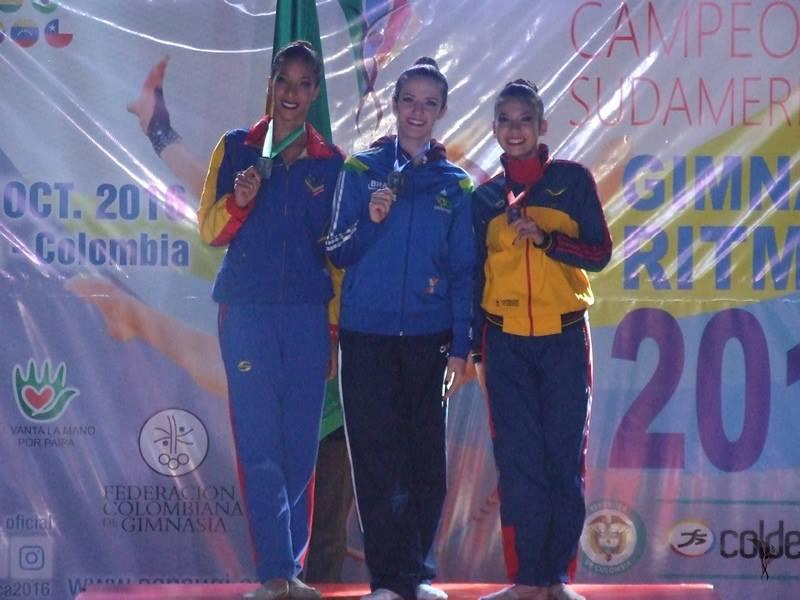 Natália Gaudio é pentacampeã sul-americana/ Foto: Reprodução