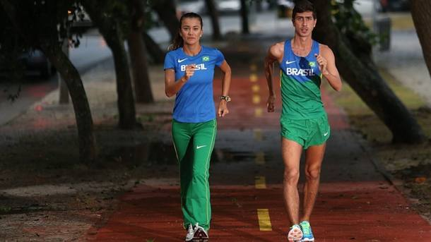 Erica Sena entre as 5 melhores e Caio Bonfim entre os 12 do mundo/ Foto: Fabio Motta|Estadão