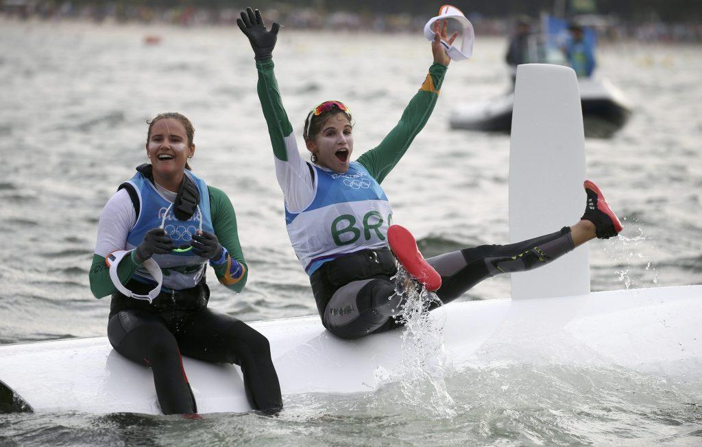 Martine Grael e Kahena Kunze campeas olimpicas, são indicadas ao prêmio de melhores velejadoras do mundo