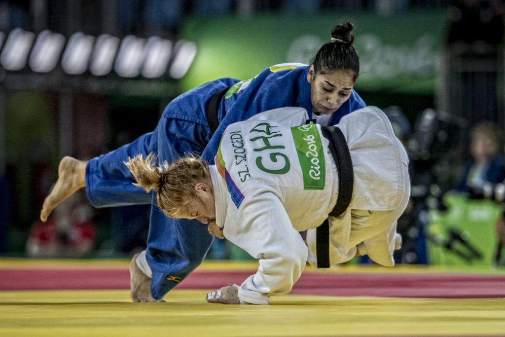 Mariana Silva (63kg), foi quinta colocada no Rio/ Foto: ©Marcio Rodrigues/MPIX/CBJ