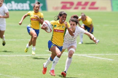 As meninas do Brasil tem uma vaga garantida para disputar todas as etapas do torneio