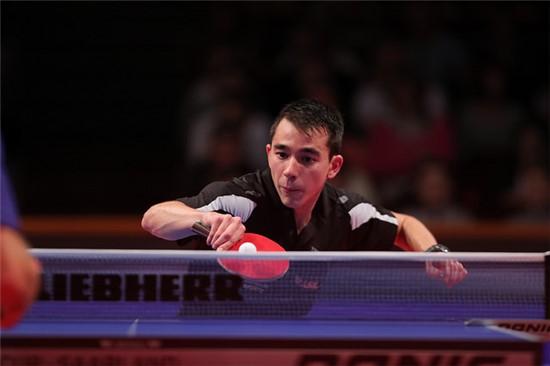 Hugo Calderano fica nas oitavas de final na Copa do Mundo/ Foto: ITTF